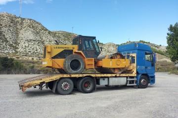 Transporte de Maquinaria Ligera, Pesada y Vehículos